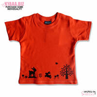 Organic Baby Shirt - Red Riding Hood by shiricki