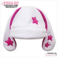 Hat - Bunny with Stars