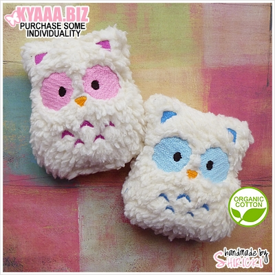 Baby Rattle - Organic Owl by shiricki