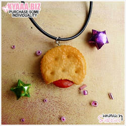 Necklace - Filled Cookie
