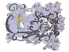 Alice in Wonderland by shiricki