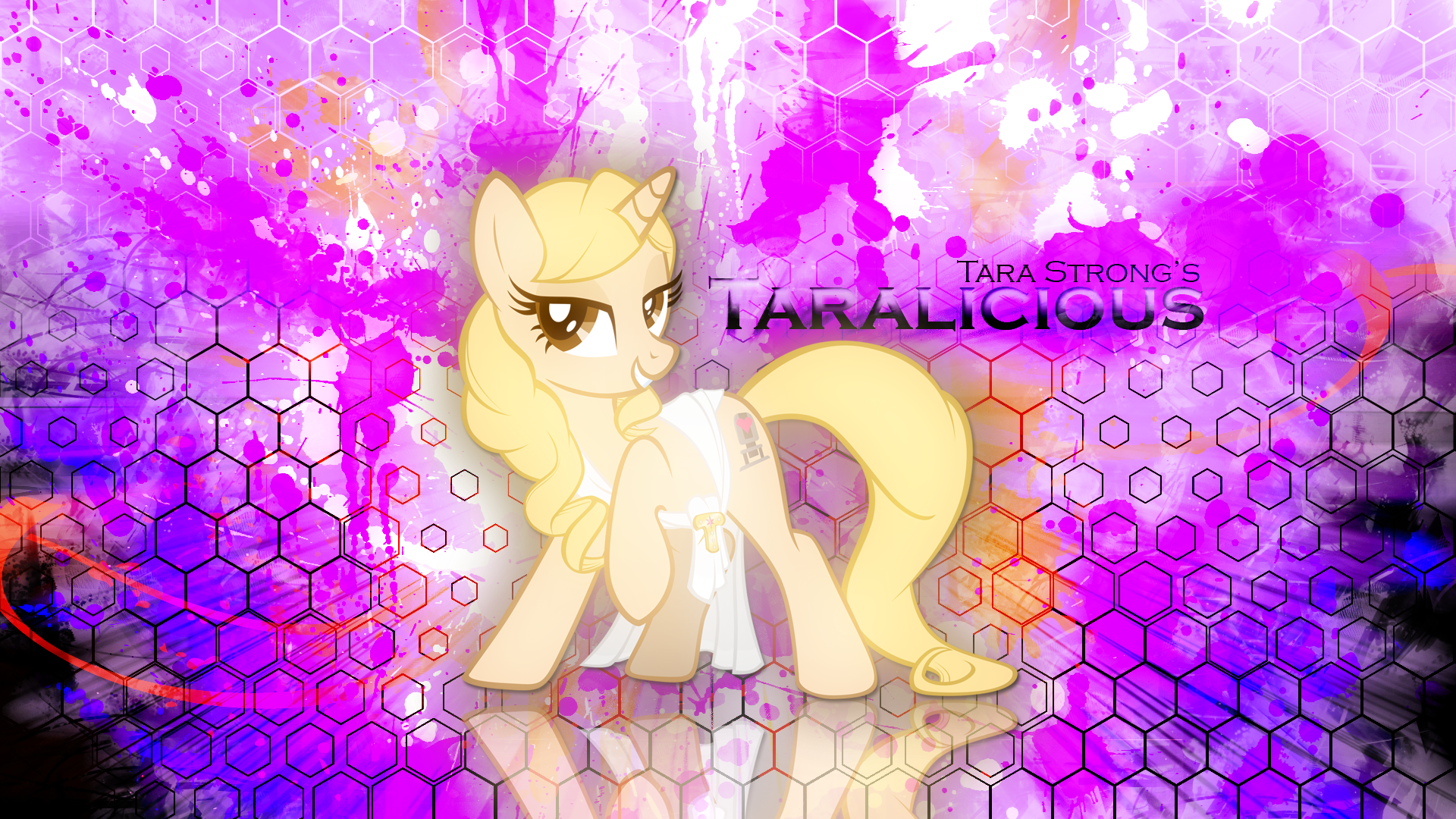 Taralicious is Full of Magic Wallpaper by EnemyD