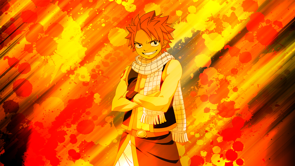Fairy Tail Natsu Dragonslayer Wallpaper 1080p By Enemyd On