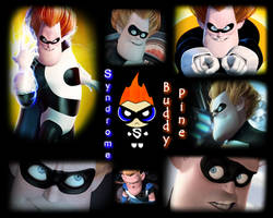 Syndrome Wallpaper by PebblesInMyPockets