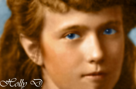 Anastasia Close-up by Hattie-James