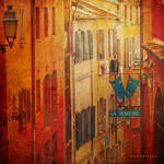 just another narrow street in Nice... by ildiko-neer