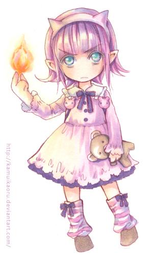 LoL-Annie by kamuikaoru