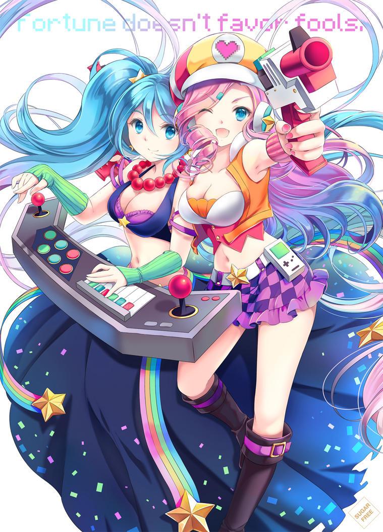 [LOL] Arcade bot lane by kamuikaoru