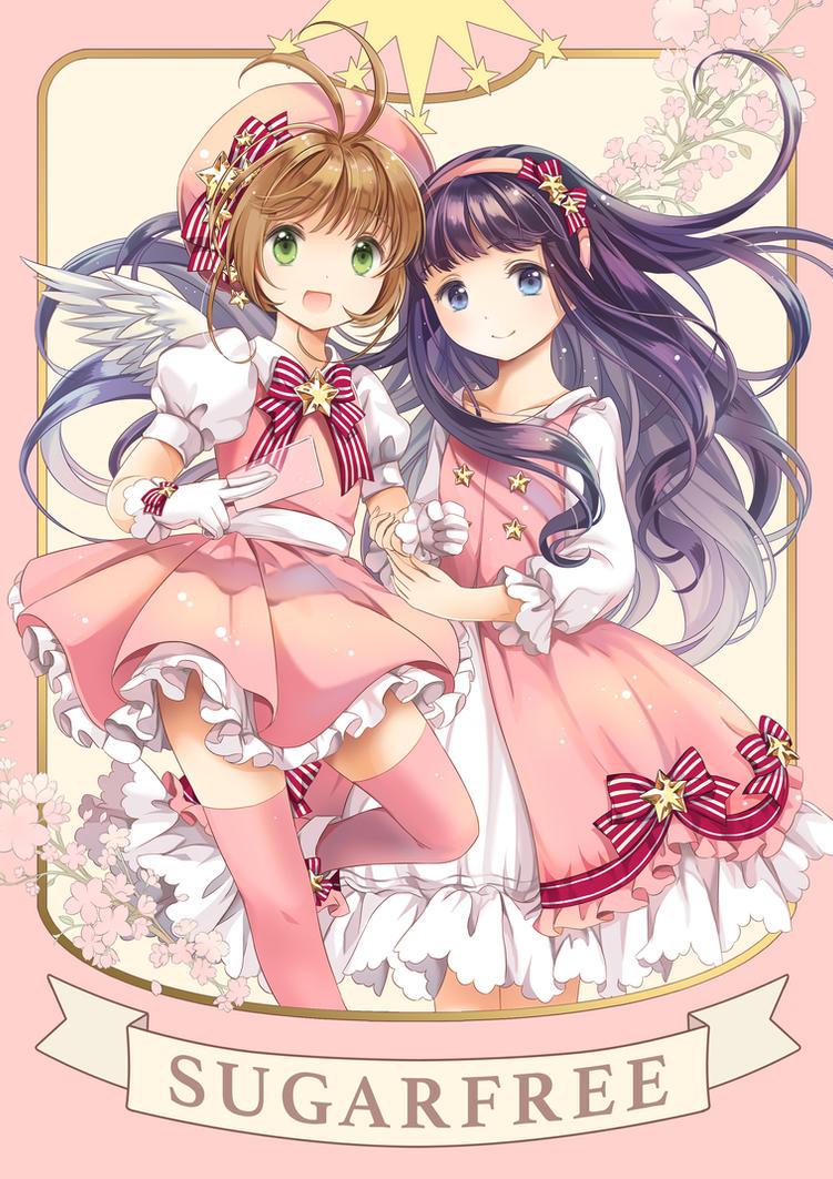 [CCS] Sakura and Tomoyo by kamuikaoru