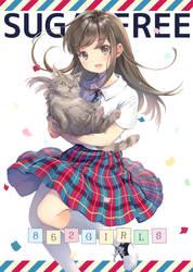 852 Girls art book