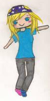 just me by Blondkairi