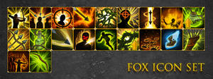 Fox Icon Set by Mind-Force