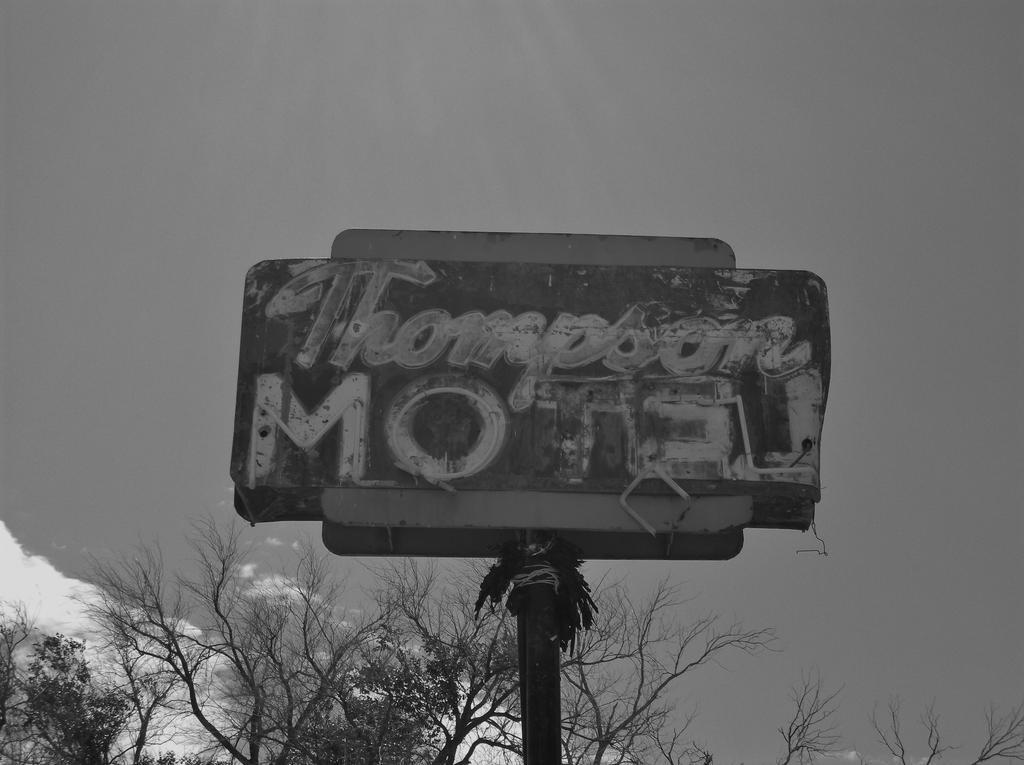 Thompson Motel sign by Raptorguy14