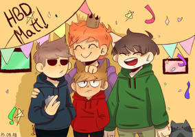 HAPPY BIRTHDAY MATT by Musuruu