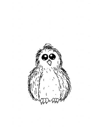Baby Bird Sketch by GhostWryter on DeviantArt