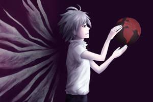 Angel of destruction by Kurai-Kaze
