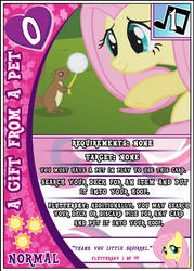 MLP:FiM Card Game: A Gift from a Pet by PonyCardGame