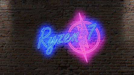 Ryzen 7 Neon Tubes