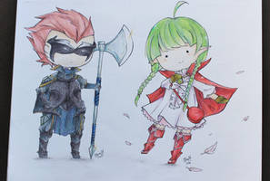 Gerome and Nah by isparklehearts