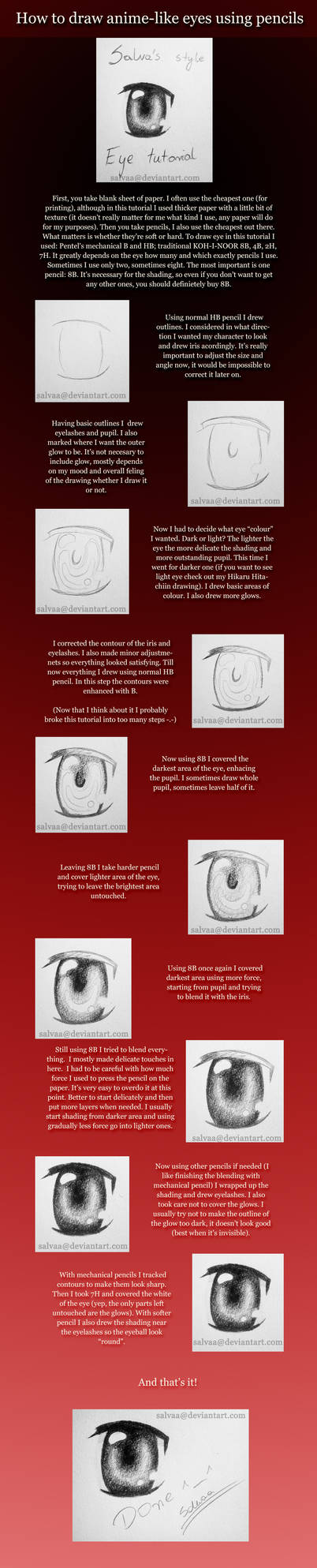 Anime-like eye tutorial