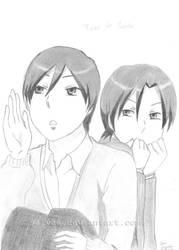 Annoying siblings by Salvaa