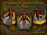 Warcraft III: Blood Elf Altar