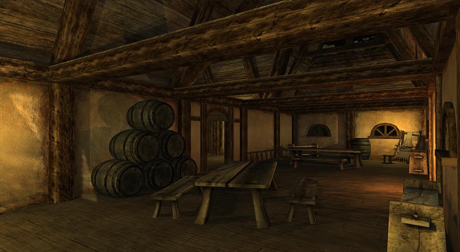 Medieval Interior By Darkraven1988 On Deviantart