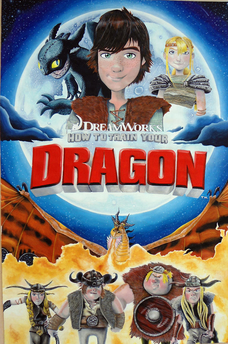 How to train your dragon poster by wc lima on deviantart how to train your dragon poster by wc lima ccuart Choice Image