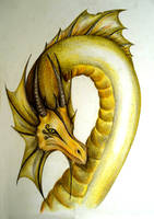 Yellow Dragon by MartyDeath