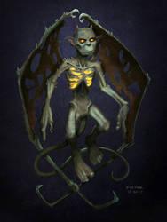 Gargoyle Fan Art by darrenhester
