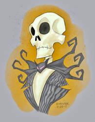Jack Skellington Fan Art by darrenhester