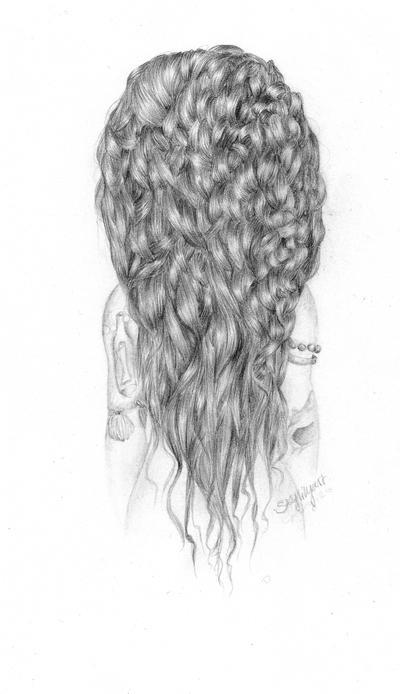 Curly by Skylilyart