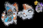 Tapu Niho and its Shiny (FANART)
