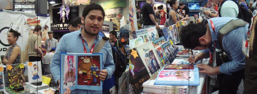 Megaman art book Tribute by kungfumonkey