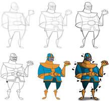 Thanos Process by kungfumonkey