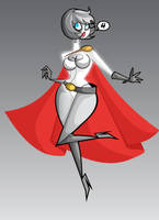 4- Power Girl by kungfumonkey