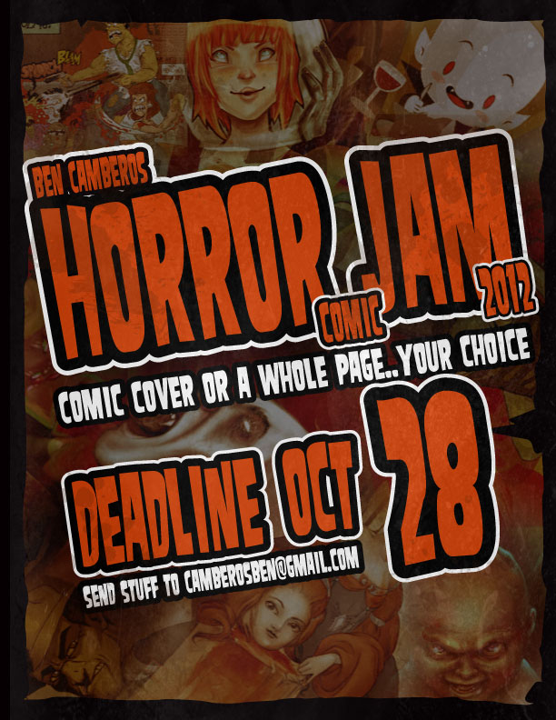 Horror Jam 2012 by kungfumonkey