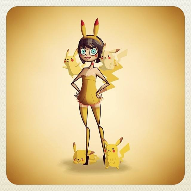 Pikachu Dress by kungfumonkey