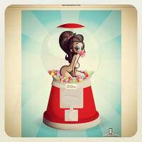 Bubblegum Girl Update by kungfumonkey