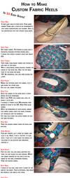 How to Make: Custom Fabric Heels by GAME-OVER-CUSTOM