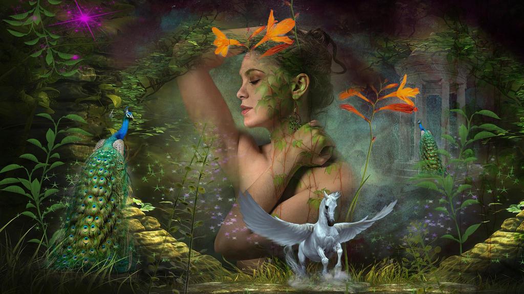 Eos Goddess of dawn by DDimitri16