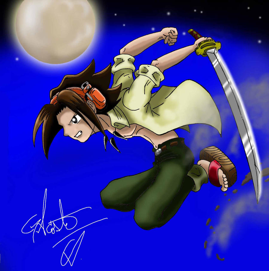 Shaman King by DrawingSpirit2015