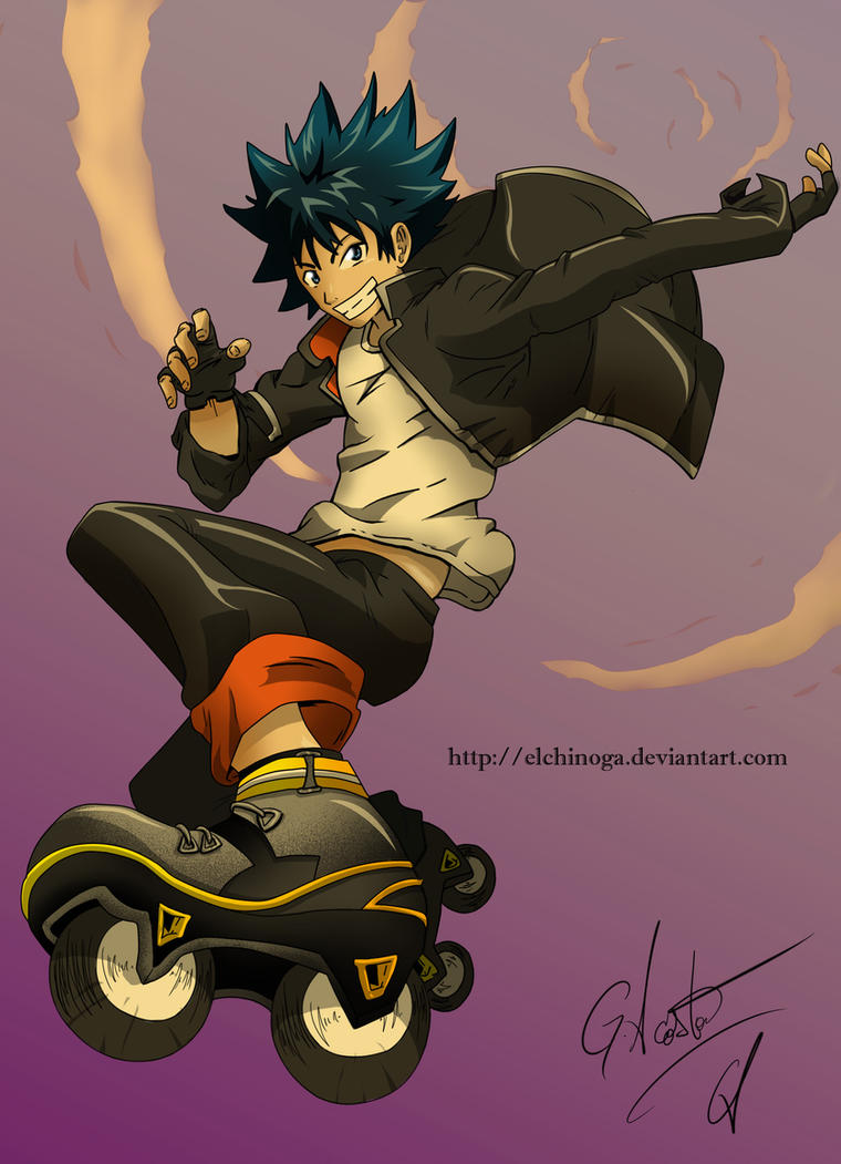 Air Gear by elchinoga