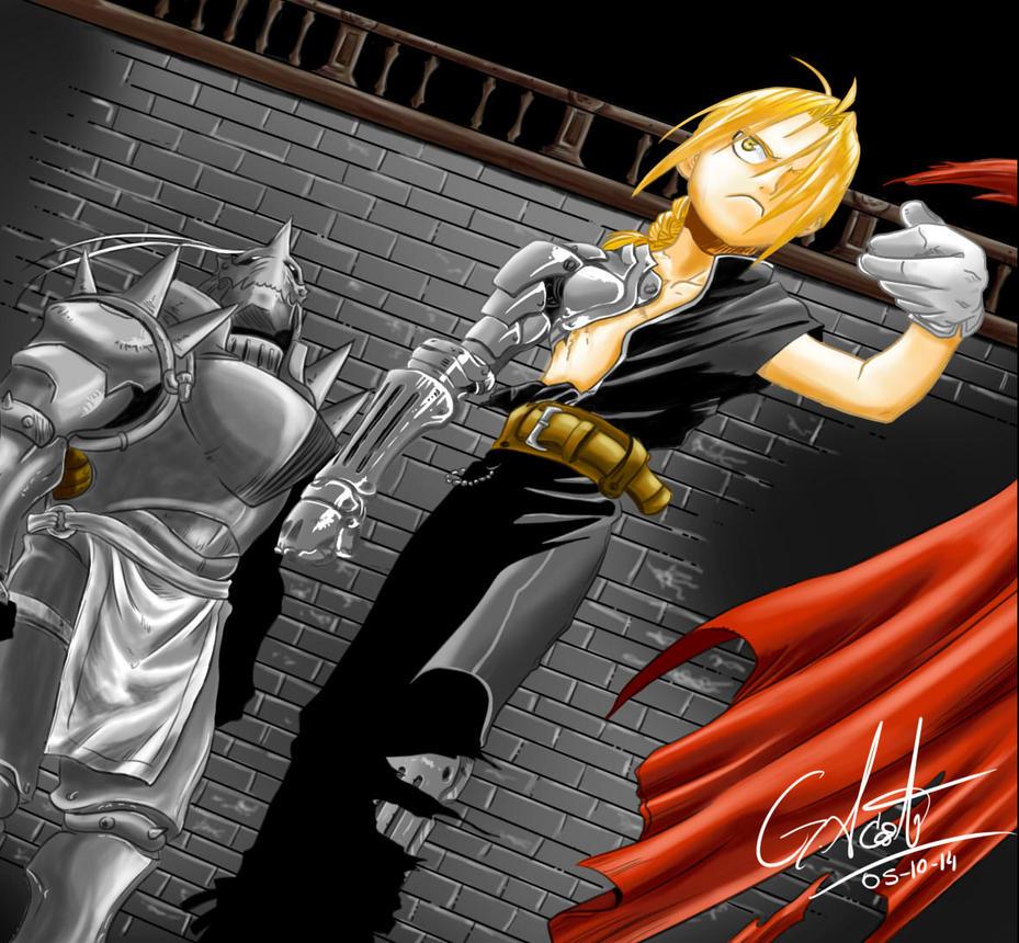 Full Metal Alchemist by elchinoga