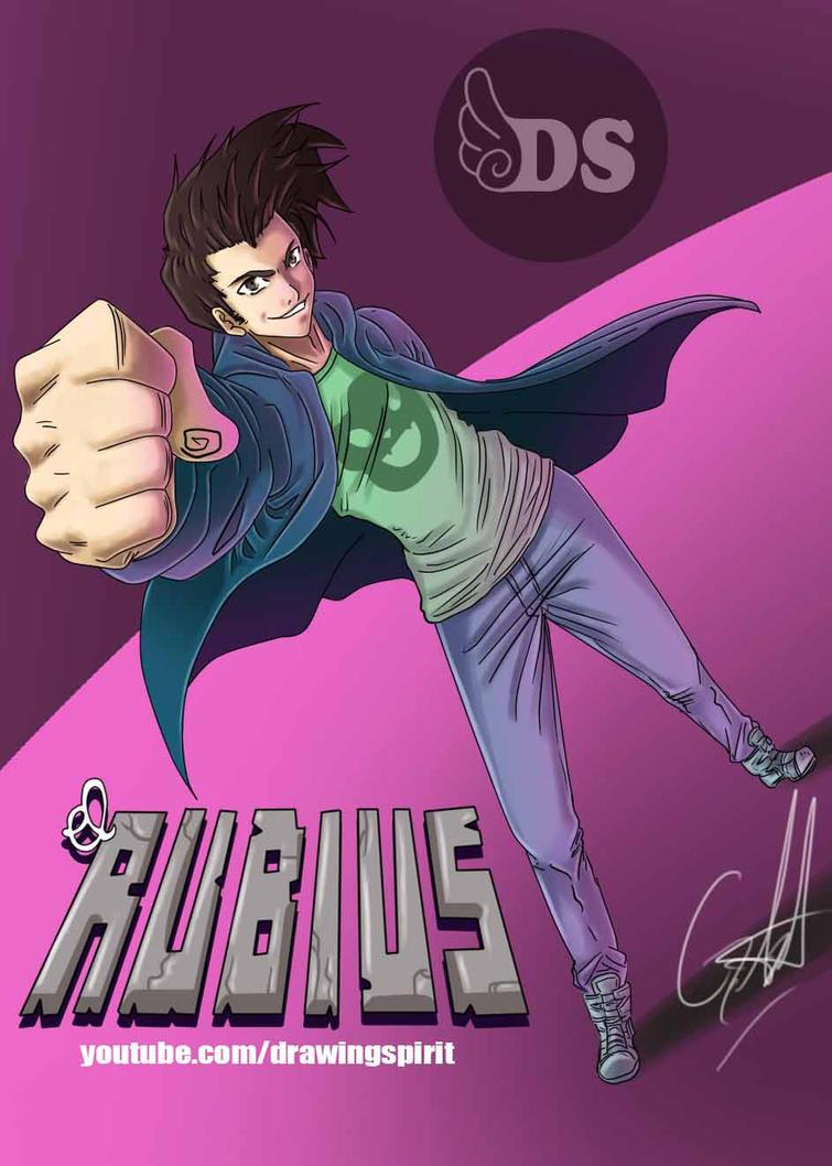 El rubius by DrawingSpirit2015