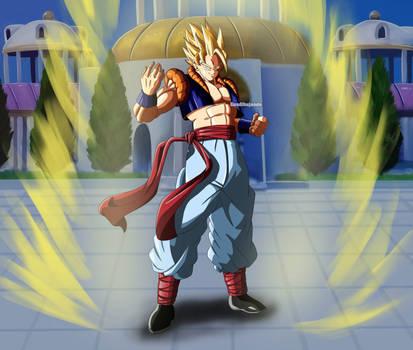 Gokan 2d version - Super Saiyan
