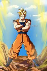 Gokuhan Super Saiyan- Commission