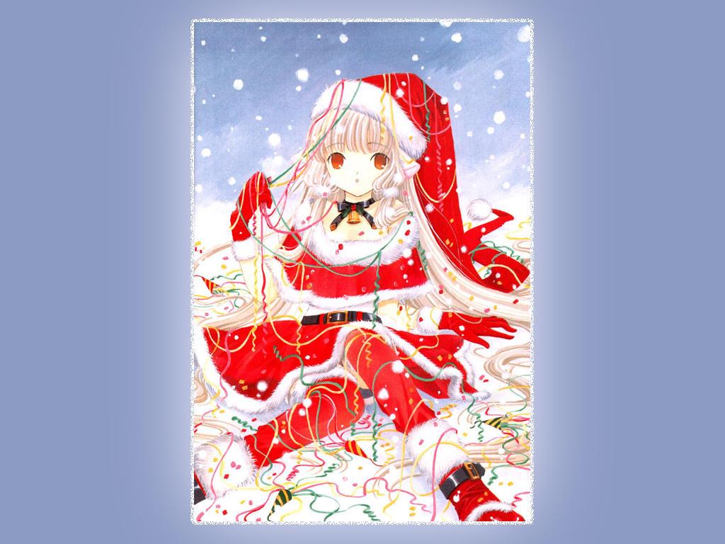 ¡¡RASEN MAHOU OS DESEA FELIZ NAVIDAD!! - Página 2 Christmas_Chii_Wallpaper_by_ConfusedLittleKitty