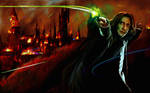 The battle of hogwarts + snape