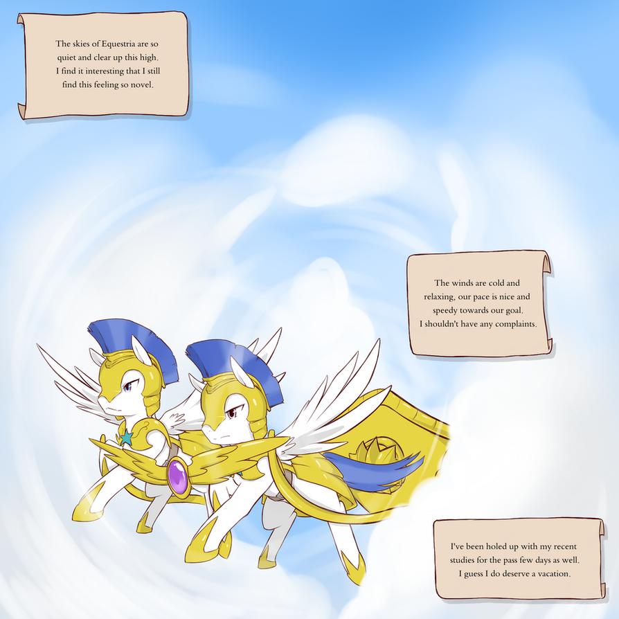 Cold Storm pg.1 by beppodragon